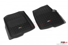 Floor Liners, Front, Black : 04-08 Ford F-150/06-08 Lincoln Mark LT