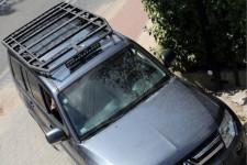 Roof Rack Platform Kit › 2006-2018 Mitsubishi Pajero IV : 120cm × 205cm