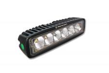 LED Bar, flood beam : 18W [6 × 3W]