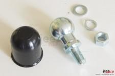 Główka haka holowniczego | kula 50mm z gwintem M18 x 1,5 komplet